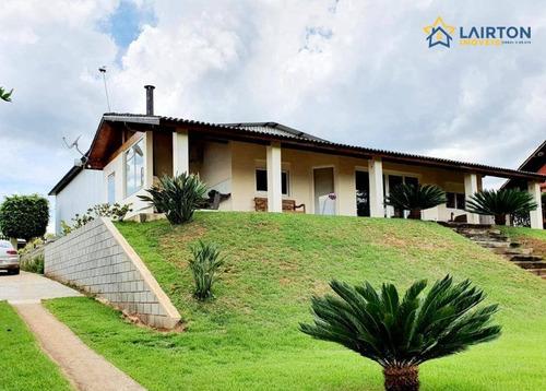 Chácara À Venda, 1250 M² Por R$ 1.100.000 - Ponte Alta - Atibaia/sp - Ch1444