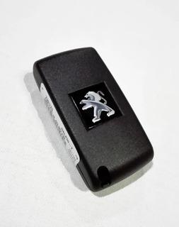 Llave 3 Botones Peugeot 307 308 Original C/ Chip