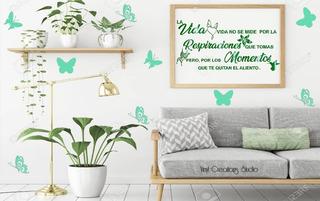 Mariposas Stickers De Vinilo Para Decoración Hogar, Negocio