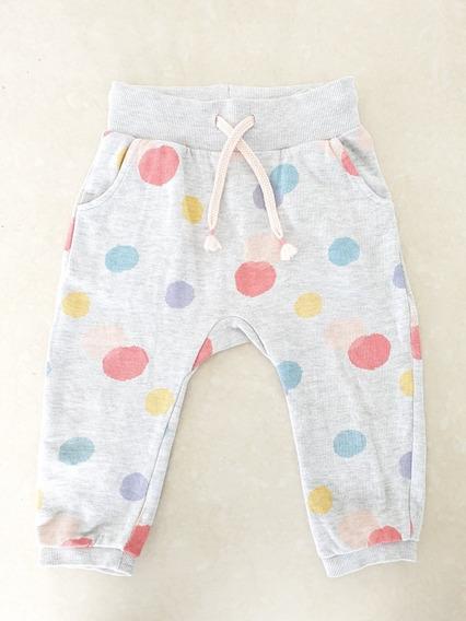 Pantalon Babucha H&m 12/18 Meses