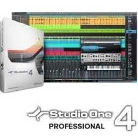 Presonus Studio One 4.5.1 +instruments Pack.+curso.