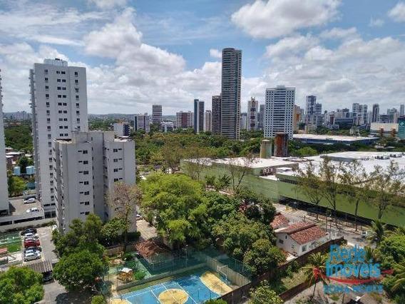Apartamento Com 3 Dormitórios Para Alugar, 70 M² Por R$ 1.800/mês - Torre - Recife/pe - Ap9938