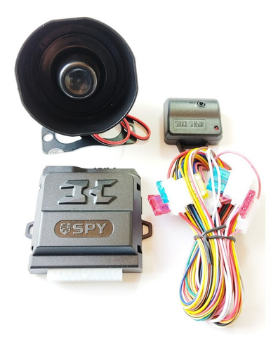 Alarma Para Carro Spy Trf Compatible Con Controles Original