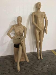 Manequins Plásticos Corpo Inteiro