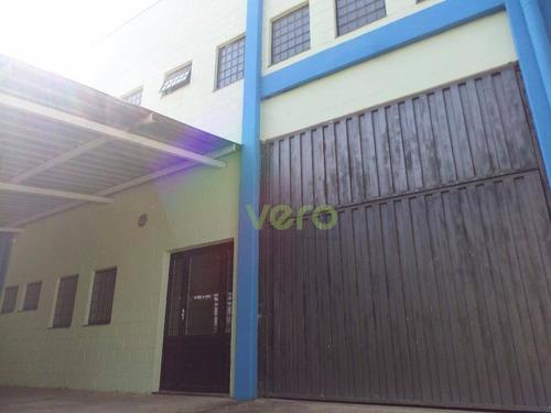 Imagem 1 de 1 de Galpão Industrial Para Locação, Jardim Luciane, Americana. - Ga0001