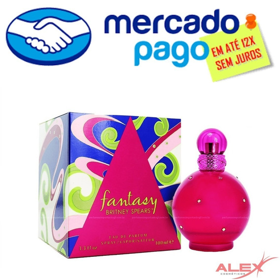 Fantasy Barato Novo Perfume Original Alex Cosmetic Cuiaba Mt