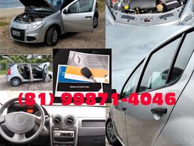 Renault Sandero 1.0 16v Authentique Hi-flex 5p 2013