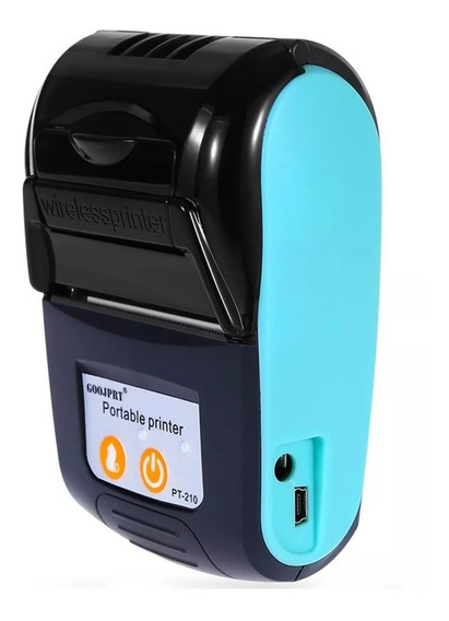 Mini Impressora Portátil Bolso Cupons Sem Fio 58mm