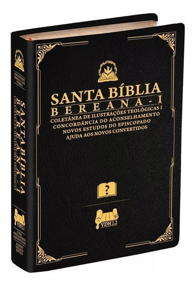 Santa Bíblia Bereana De Estudo -