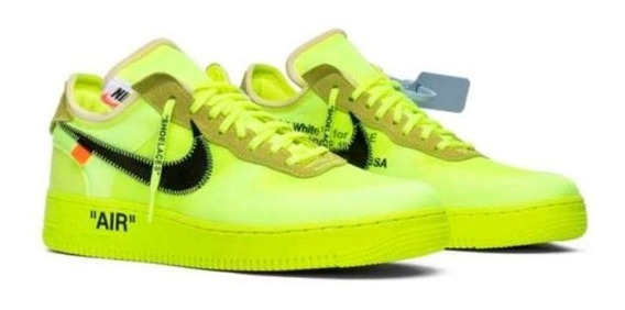 Off White X Air Force 1 Volt