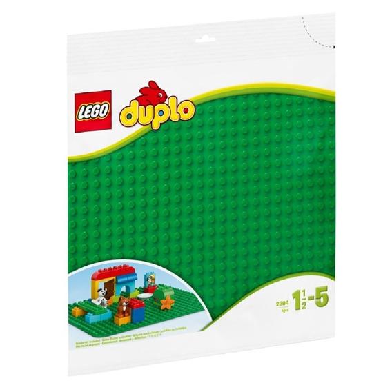 2304- Lego Duplo - Placa Base Verde Grande Lego