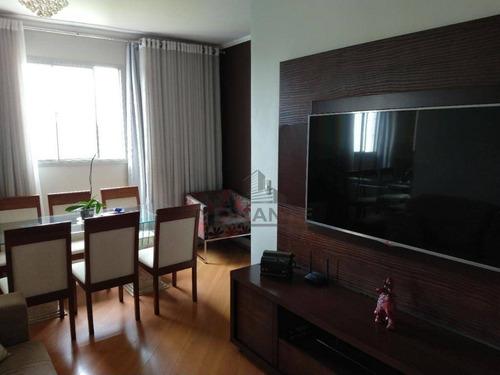 Imagem 1 de 30 de Apartamento Com 3 Dormitórios À Venda, 72 M² Por R$ 330.000,00 - Jardim Morumbi (nova Veneza) - Sumaré/sp - Ap19514