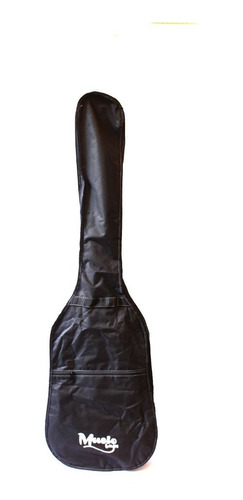 Imagen 1 de 1 de Funda Bajo Electrico Music Bag Nylon Negra Mub-41b