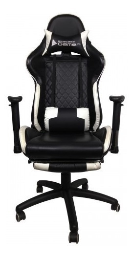 Cadeira Gamer Platinum Preto Bch-20bk Bluecase