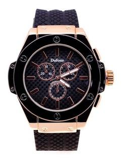 Reloj Hombre Detalles De Elegancia Malla De Silicona D7468
