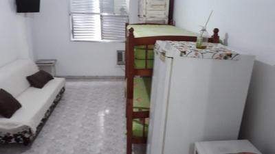 Kitnet Em Aparecida, Santos/sp De 29m² 1 Quartos À Venda Por R$ 175.000,00 Ou Para Locação R$ 1.100,00/mes - Kn221080lr
