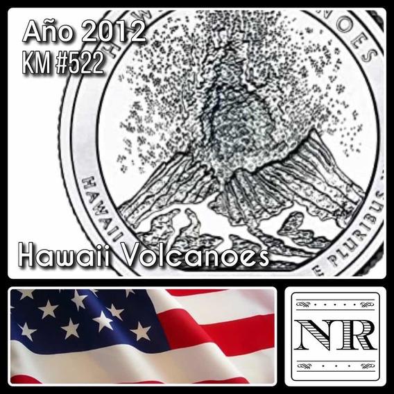Estados Unidos - 25 Cents - Año 2012 - Hawaii Volcanoes