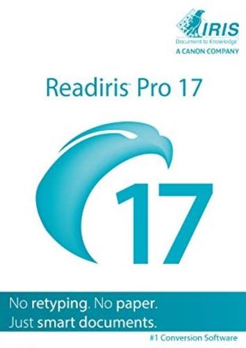 Readiris Corporate 17 -  Edição De Pdf E Ocr