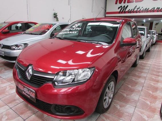 Renault Sandero Expression 1.0 12v Flex, Pze9958
