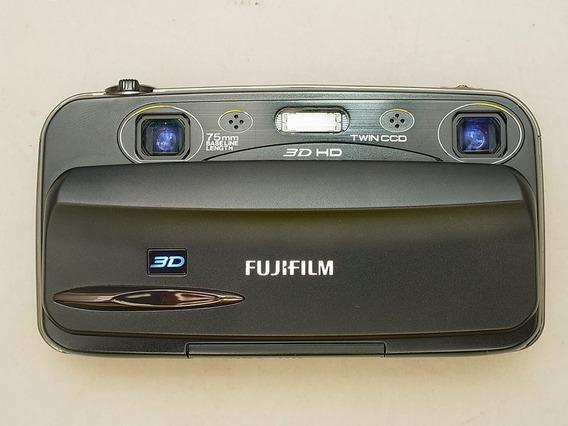Camera Fujifilm Real 3d W3 Estero 3d Digital, Opt. Steadycam