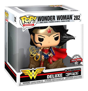 Funko Pop! Wonder Woman Dc Jim Lee 282 Special Edition