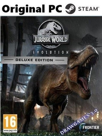 Jurassic World Evolution Deluxe Edition Steam Pc Cdkey