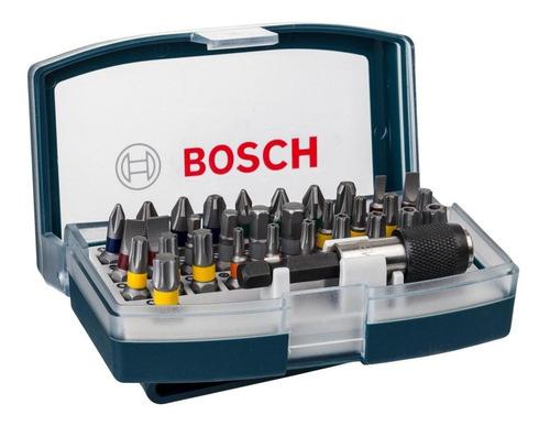 Set De 32 Unidades Para Atornillar Bosch 2607017359