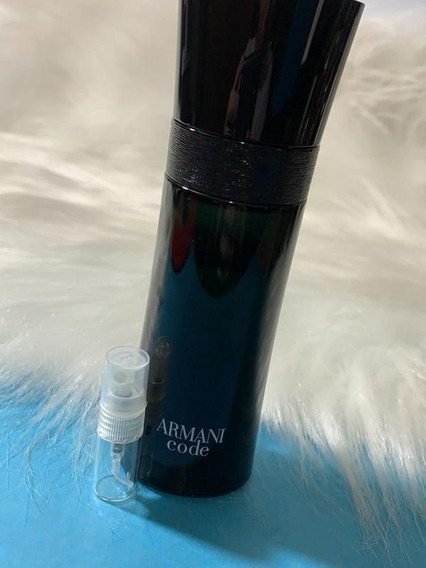 Decant Amostra Do Giorgio Armani Code 2ml Masculino