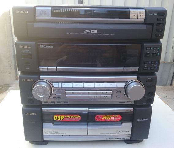 Aiwa Z R997 - Mini System Peças - Leia A Descrição -