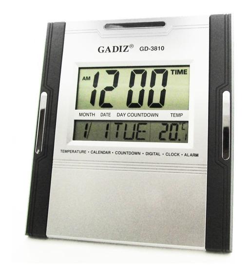 Reloj Digital Escritorio Pared Gadiz Termomet Numero Gigante