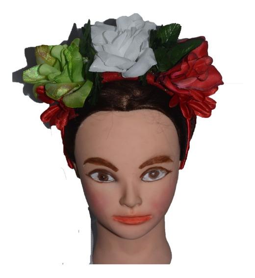 Frida Kahlo Diadema Flores Colores Mexico Fiesta C