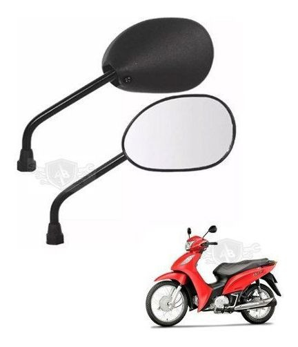 Retrovisor Espelho Moto Honda Biz 125 Universal Mod Original