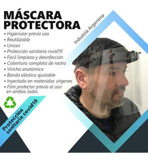 Mascara Protector Facial Policarbonato Transparencia