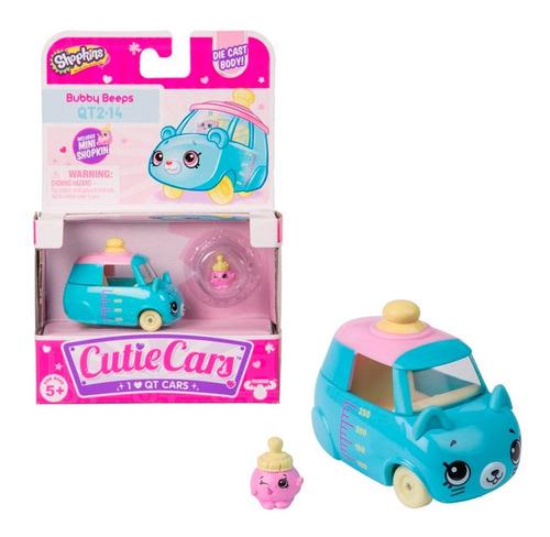 Imagen 1 de 3 de Shopkins Cutie Cars Individual + Un Mini Shopkins - Original