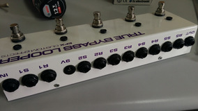 Pedal Efx Looper P Delay Chorus Reverb Tc Nux Rexsom Mxr Vox
