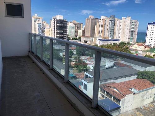 Apartamento Com 3 Dormitórios À Venda, 80 M² Por R$ 507.000,00 - Praia De Itaparica - Vila Velha/es - Ap0167