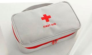 Primeros Auxilios Gris Kit Salud Supervivencia. Envio Gratis