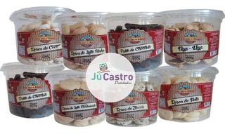 Cx Com 24 Potes De Biscoitos Amanteigados Delícia De Minas