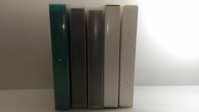 Fita Cassete K7 Vhs C/estojo Rígido,kit Com 5 Para Gravação