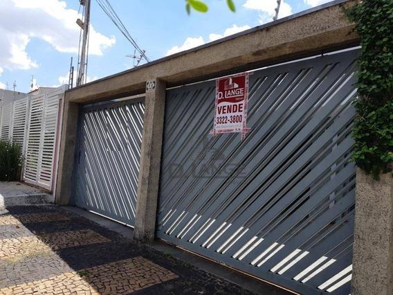Vendo Casa - Jd. Chapadão - Próximo A Igreja Rosário ( Oportunidade ) - Campinas Sp - Ca12546