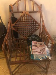 Sillón De Caña Bambú