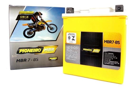 Bateria Pioneiro 7 Ah Moto Cb300 Twister Falcon Tenere Moura