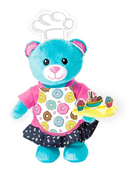 Juguete Spin Master 90302 Furry Fashions Baking Bear