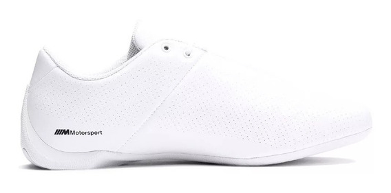 Tenis Puma Niño Blanco Bmw Mms Future Cat Ultra 30624905