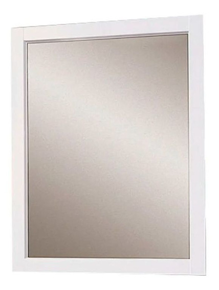 Espejo Amube Mediterraneo Colgar Blanco 56 X 72 Cm