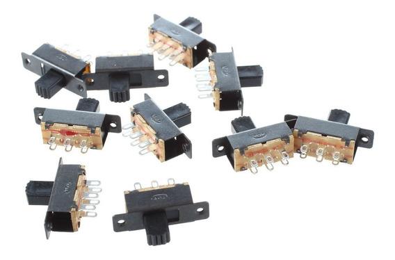 2 Pçs Mini Chave Liga Desliga P/ Arduino