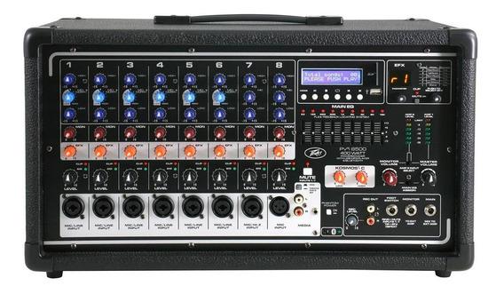 Mixer Amplificado Pv8500usb Bt - 400w - Peavey