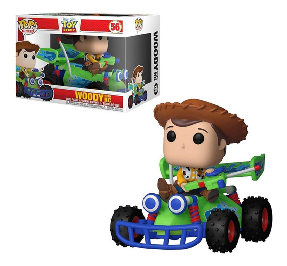 Woody With Rc Toy Story Funko Pop Rides Nuevo Original !!!
