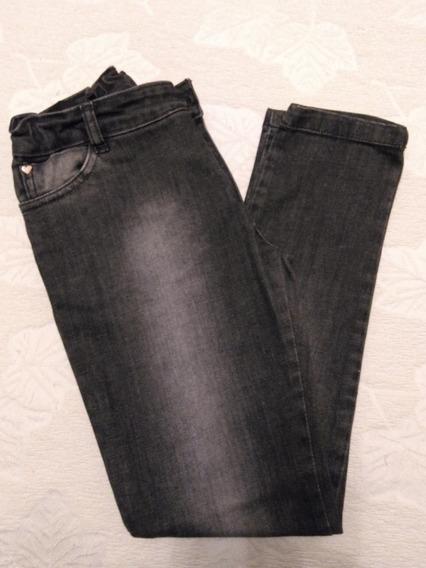 Jeans Negro Grisino Nena 9-10 Años Impecable