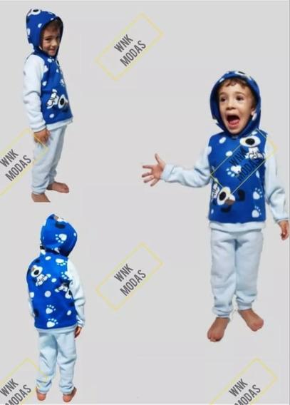 Roupas Frio Conjuntos Em Soft Infantil Agasalho Lã Poliéster